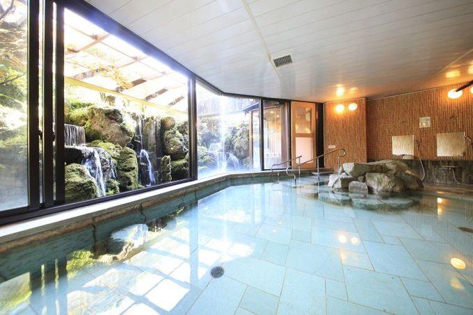 多彩な無料施設に温浴施設も充実!