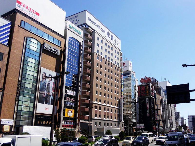 歓楽街ど真ん中の好立地!「東横イン札幌すすきの交差点」で快適リラックスステイを