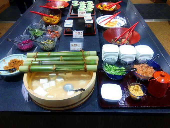 京を感じる朝食ビュッフェ
