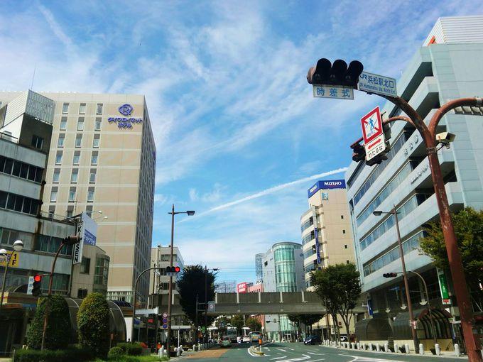 駅至近の新しいホテル