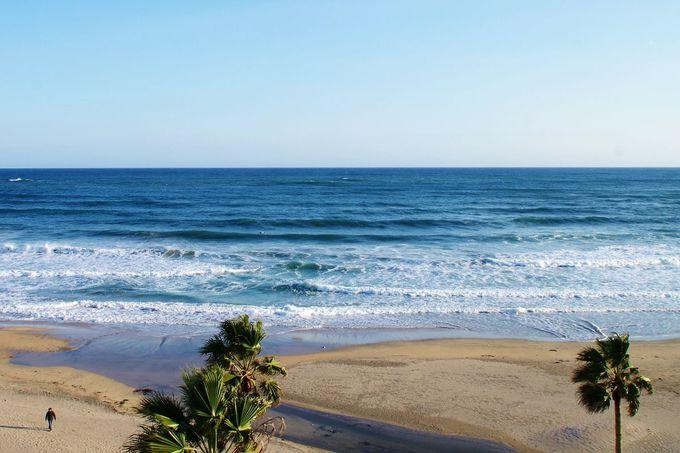 海岸まで徒歩0分!