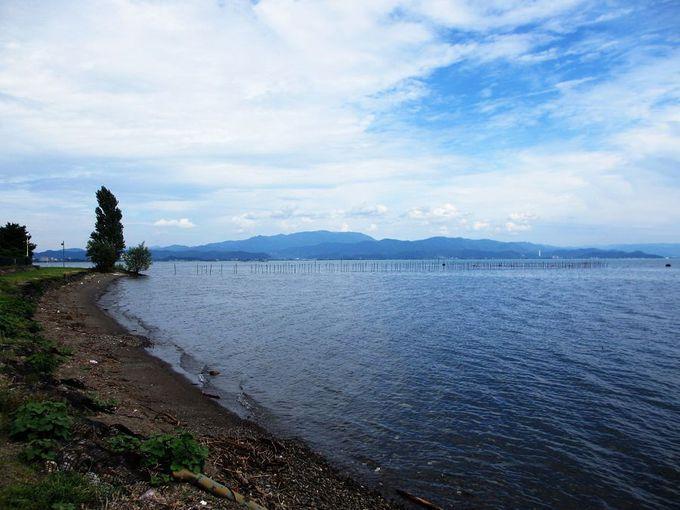 琵琶湖と古い街並が魅力の長浜