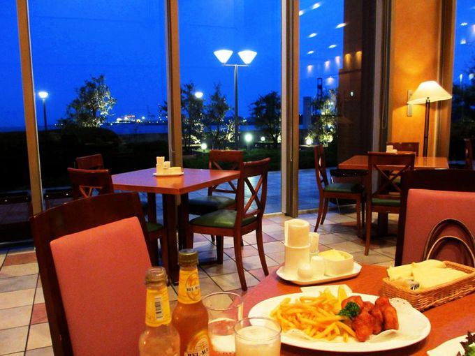 素敵な眺望レストラン