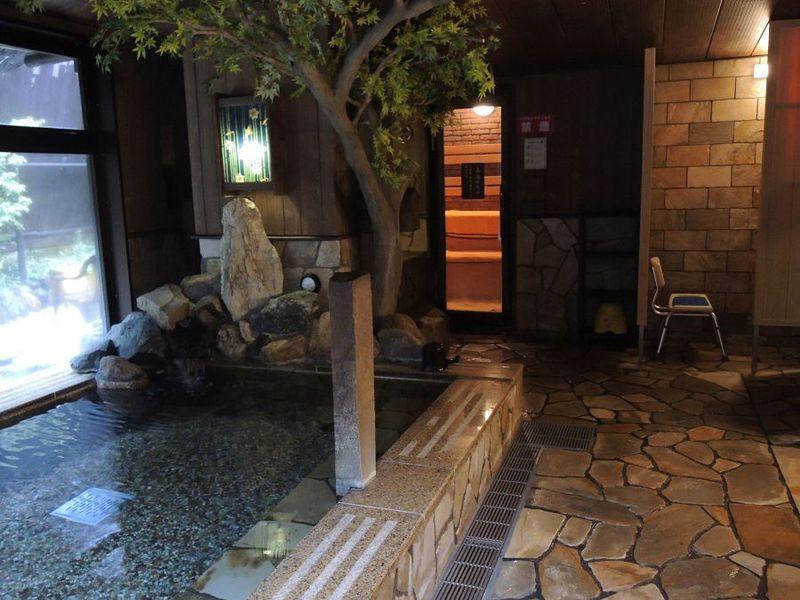 秋葉原のホテルで湯ったり時間「すえひろの湯 ドーミーイン秋葉原」