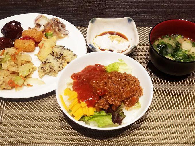 沖縄感じるクオリティ高き朝食