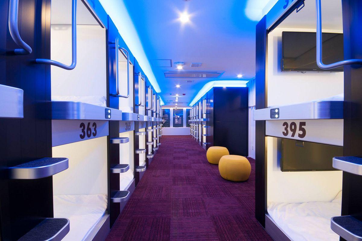 4.スパ&カプセルホテル グランパーク・イン横浜