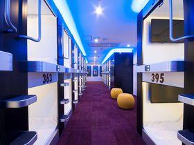 女性も利用できる「グランパーク・イン横浜」はグルメなカプセルホテル
