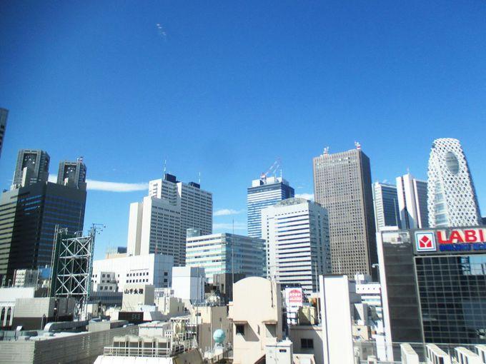 ビッグシティ「新宿」には様々なホテルが!