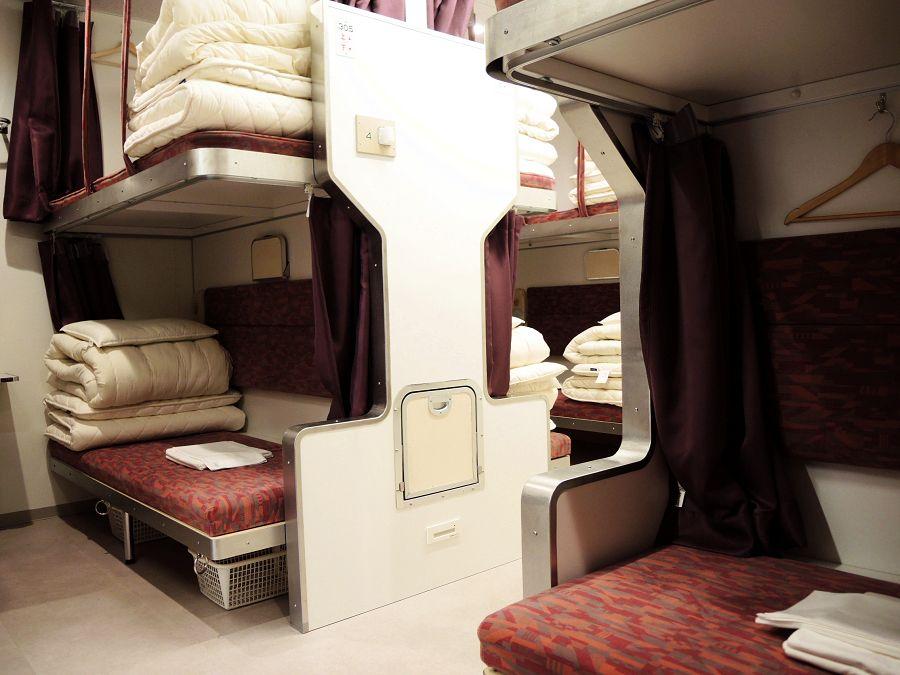 3.Train Hostel 北斗星