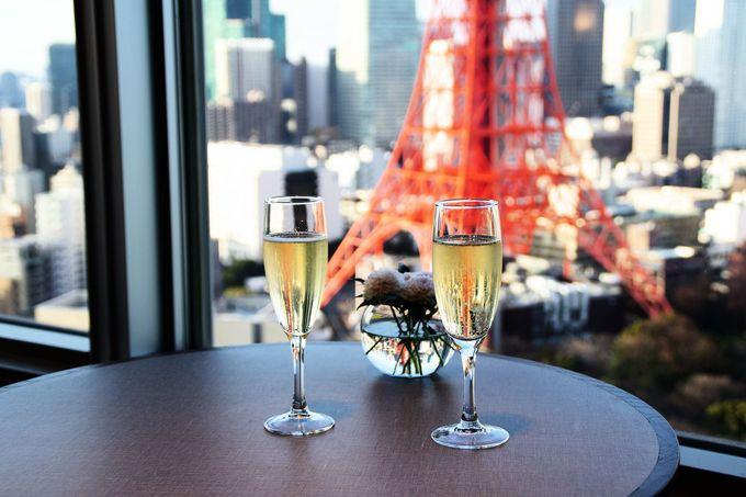 4.東京の高級ホテルで天然温泉のスパを楽しむ
