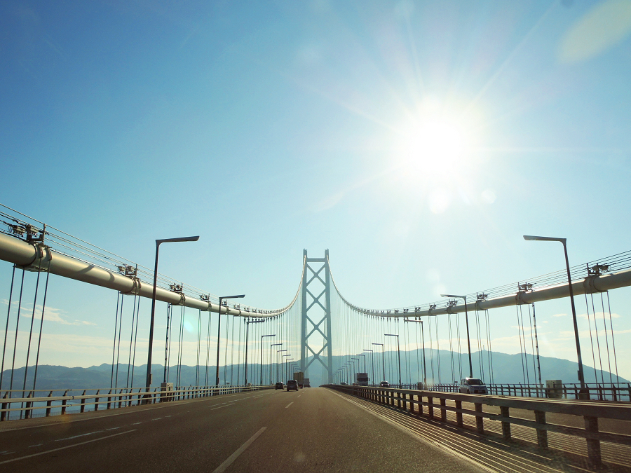 淡路島を通って四国へもまた一興