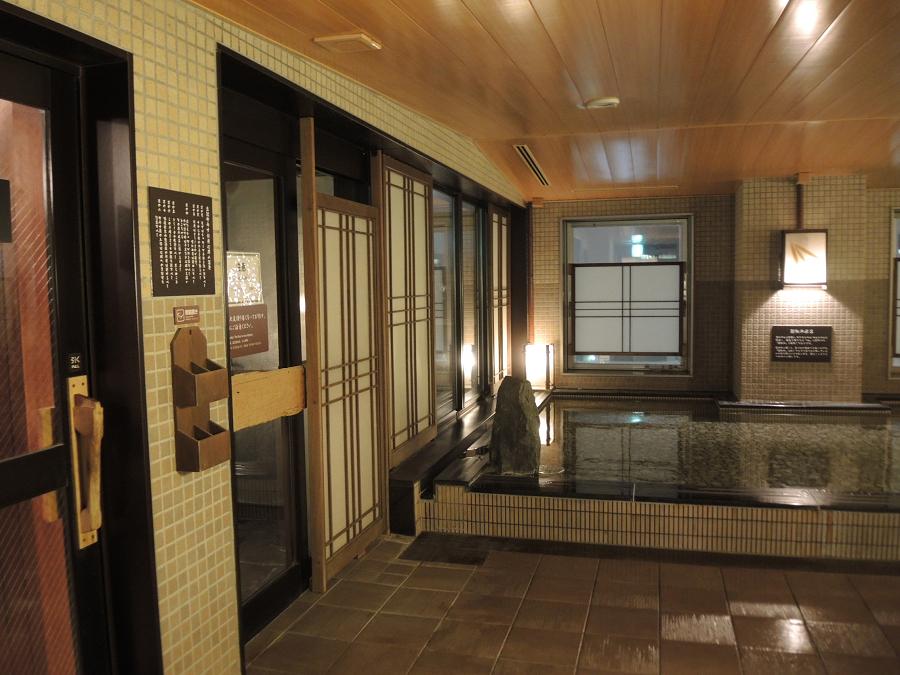 ビジネスホテルで天然温泉が愉しめる時代