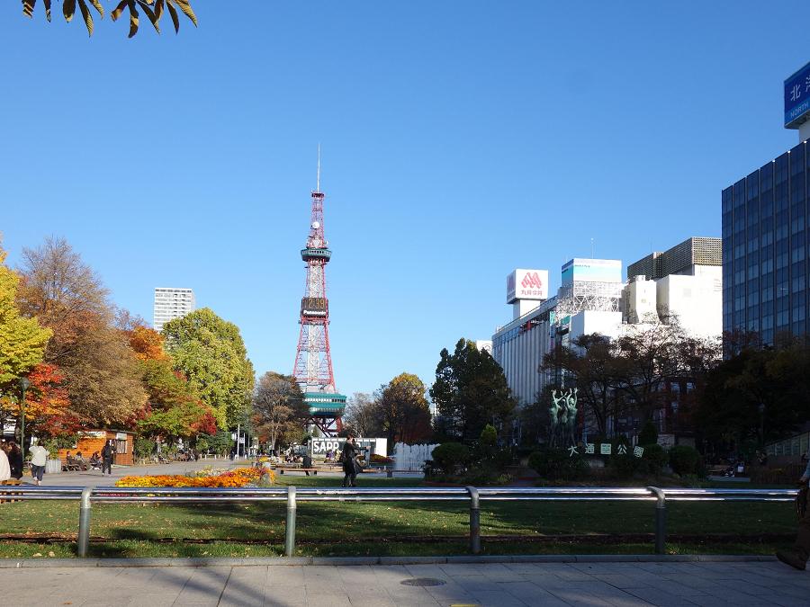 札幌の美しい街並み
