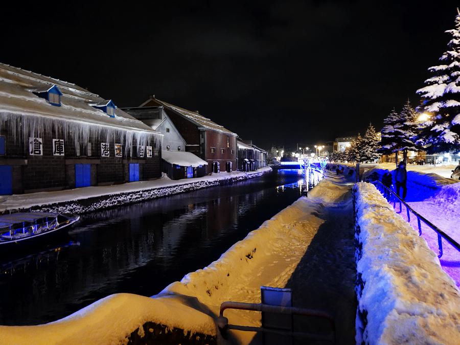 情緒ある小樽運河
