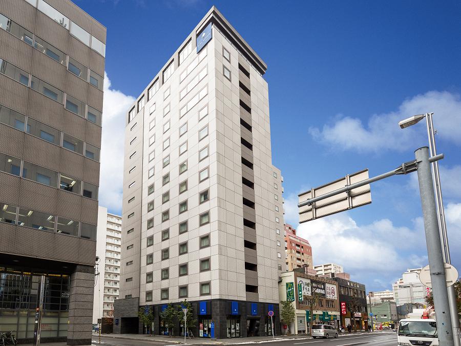 札幌駅北口からホテルへ