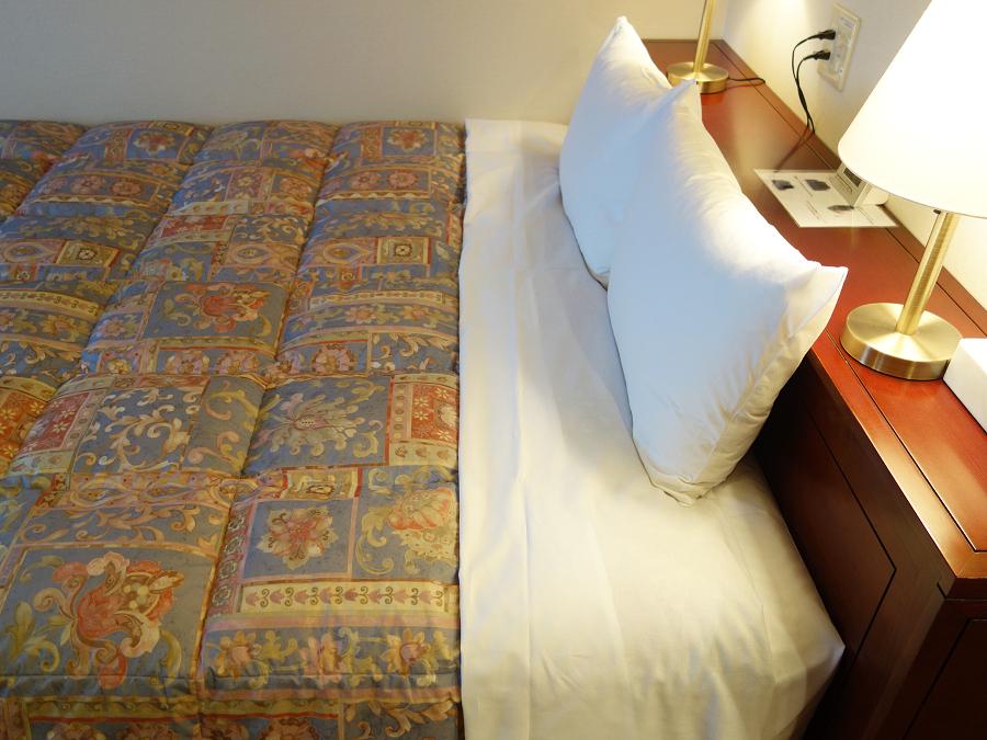 広々ベッドで快眠