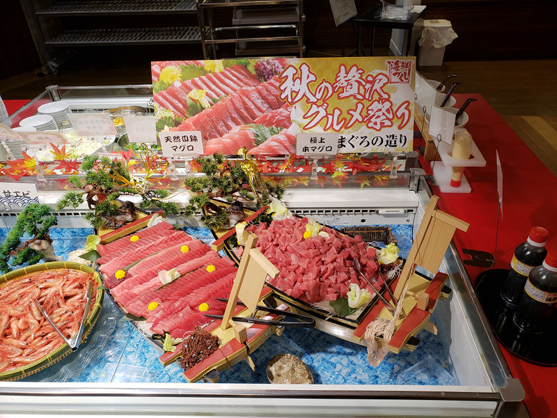 格安にして充実ブッフェが人気の「鬼怒川観光ホテル」