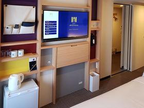 23区東部人気タウンの駅前ホテル「hotelMONday東京西葛西」