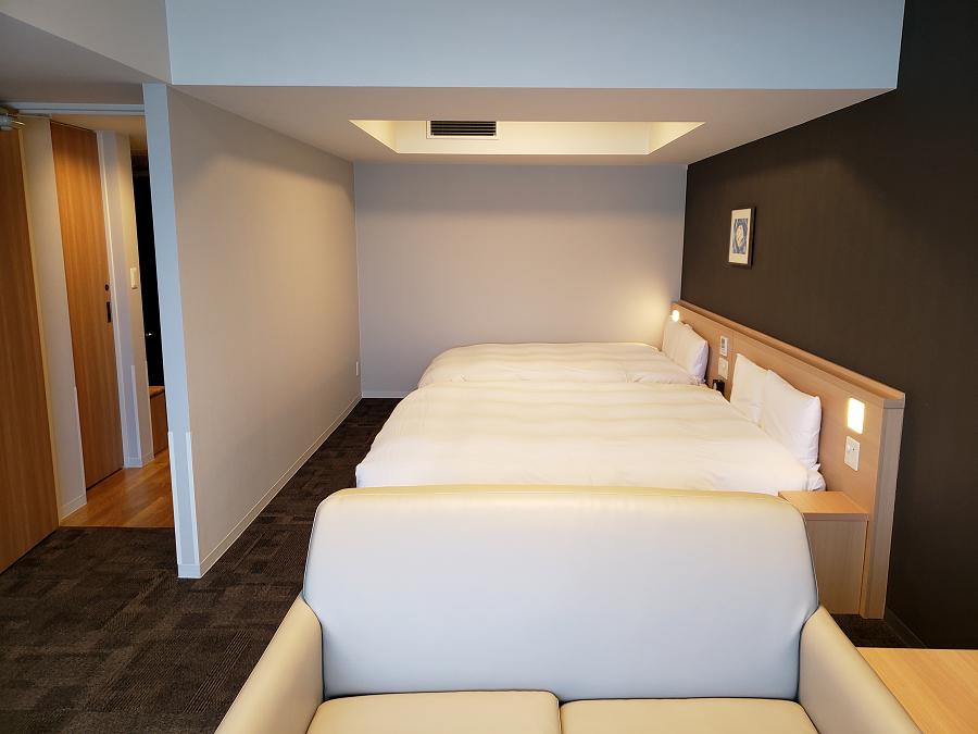 プライベート感の高い快眠客室