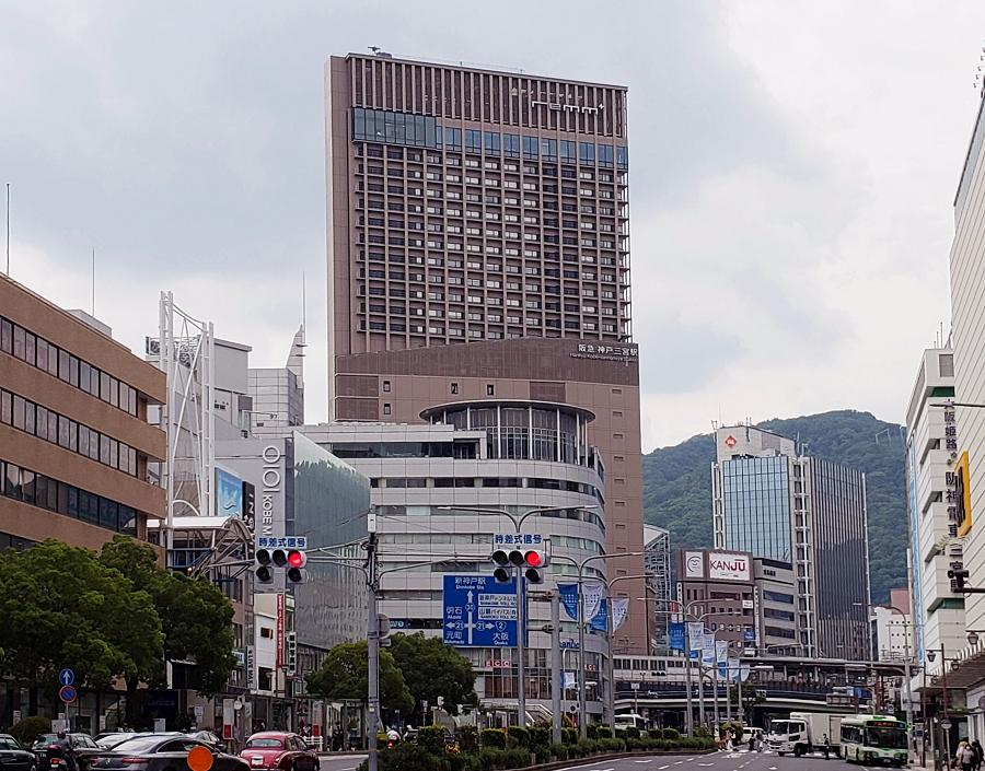 神戸の中心地に立地