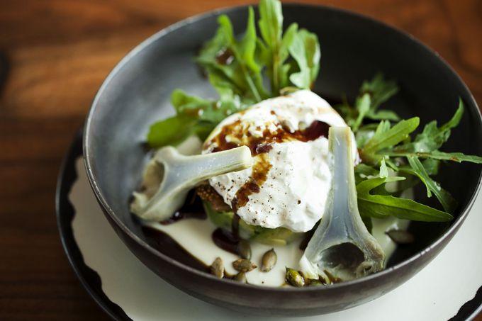 日本の食材をヨーロッパの地方料理に昇華