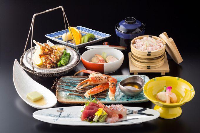 蟹づくしの和食御膳で蟹の懐の広さを実感