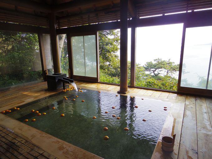 自然と一体化できる、開放感あふれる名湯を堪能