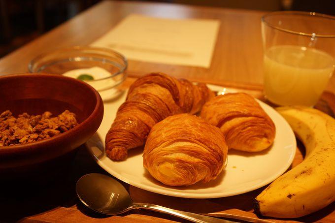 宿泊者だけ楽しめる朝食は必食!