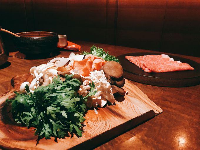 夕食は、和食、フレンチできのこを堪能