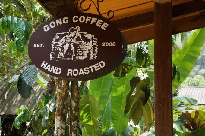 「ゴングバレー&コーヒー」でタイ産のコーヒーをお土産に