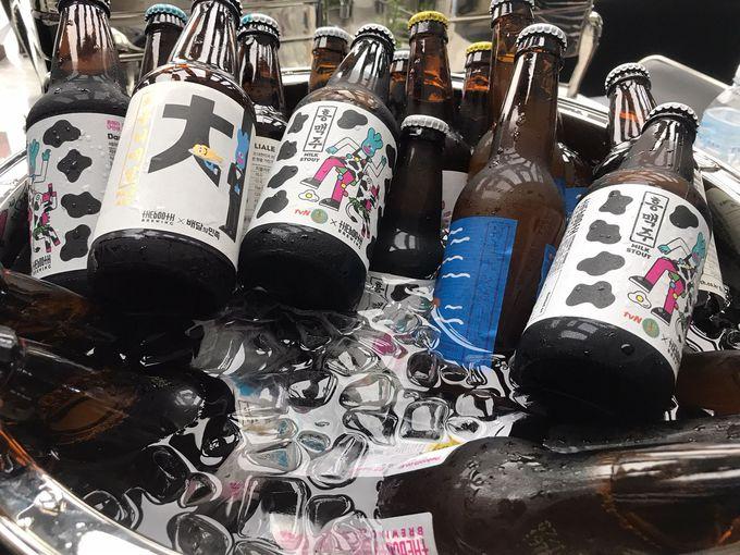 韓国のクラフトビールに舌鼓を
