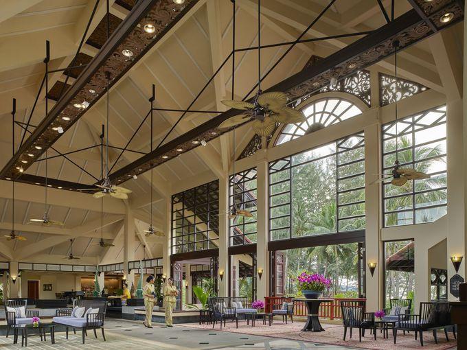 1987年11月開業。プーケットの老舗リゾートホテル