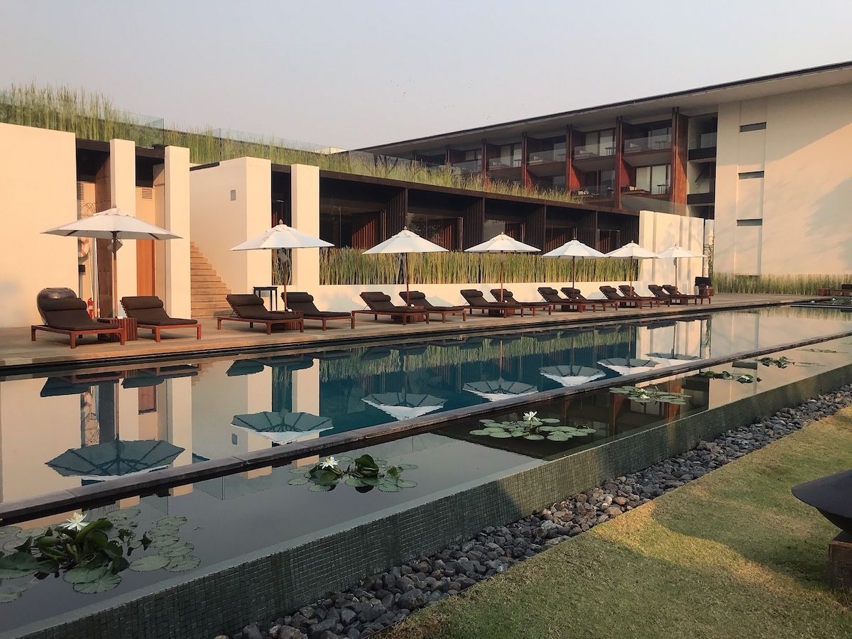 「アナンタラ・チェンマイ・リゾート」のプールも利用可能