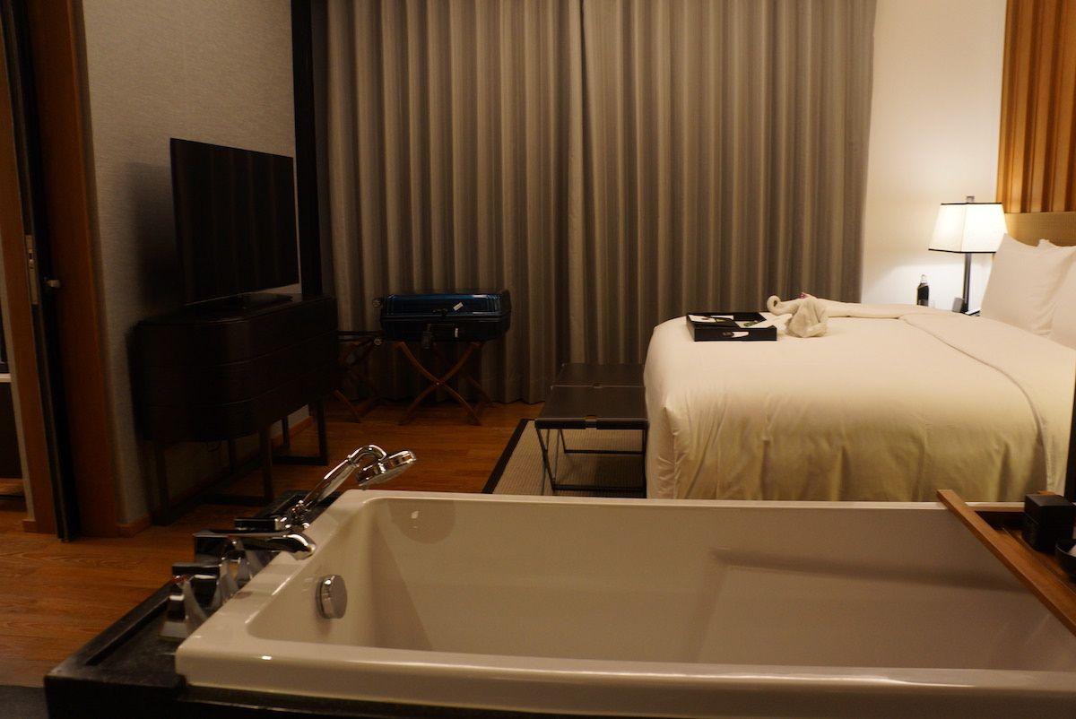1ベッドルームの客室でも約60平米以上