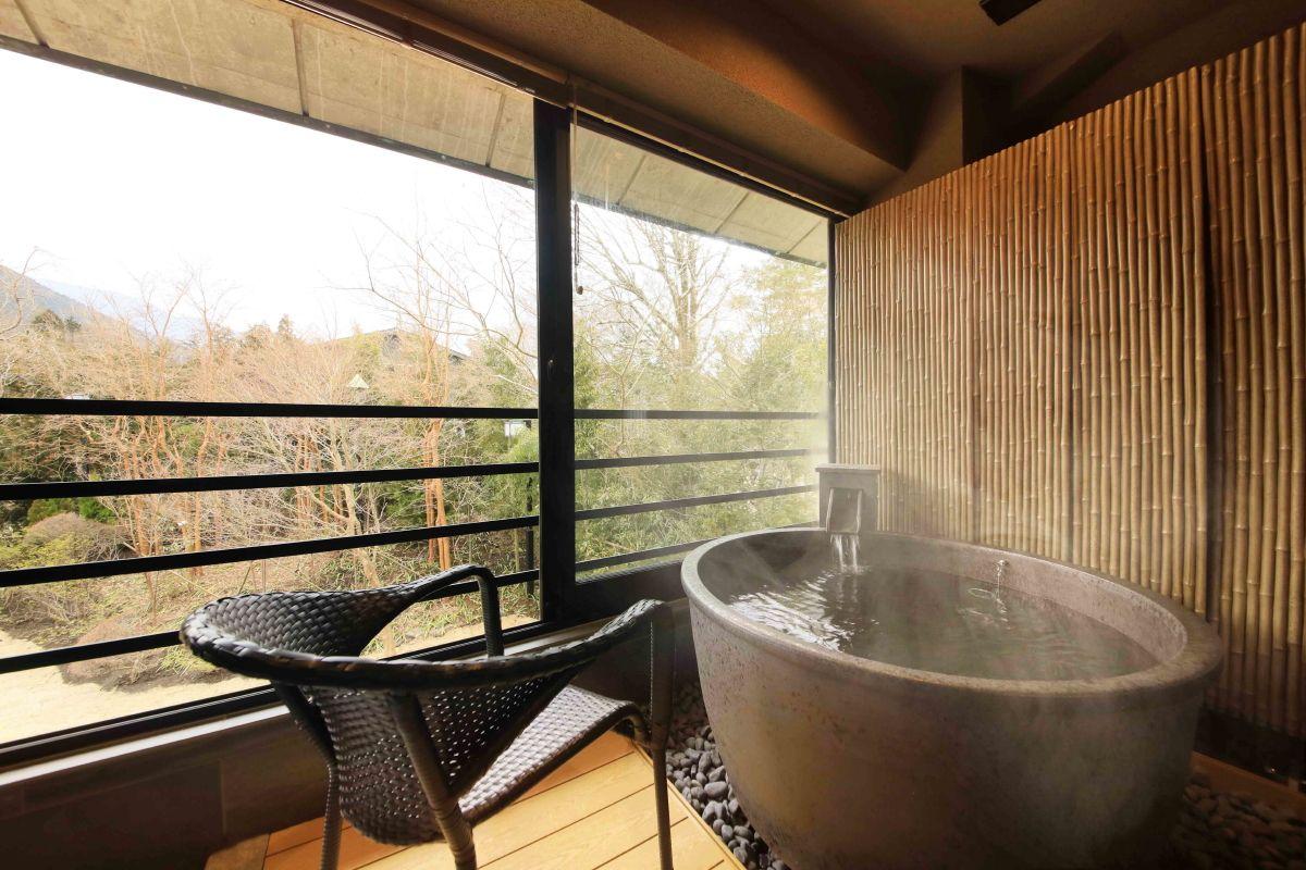 全室露天風呂付の離れ「Miyabi邸」を新設