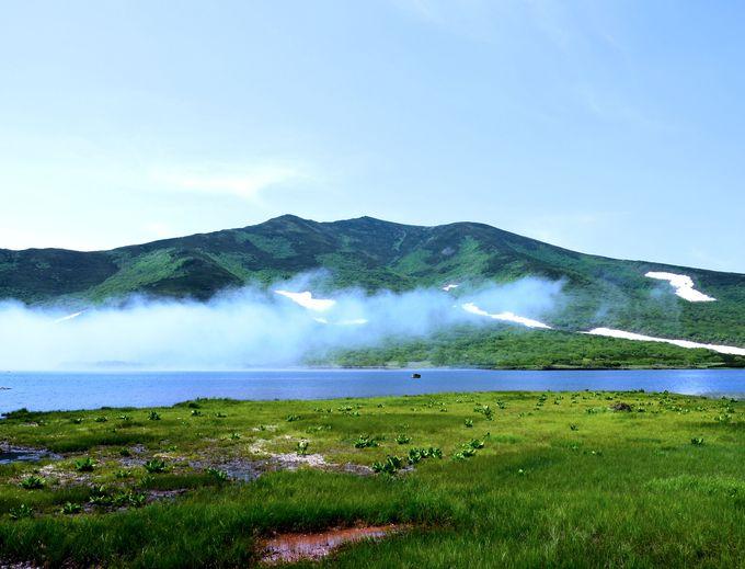 世界遺産知床で最大の湖「羅臼湖」は驚くほど壮大で幻想的!