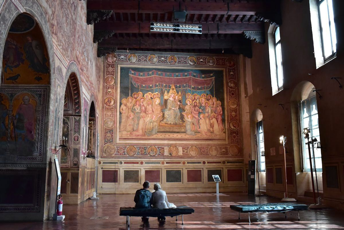「市立美術館」で「荘厳の聖母(マエスタ)」をのんびり鑑賞しよう!