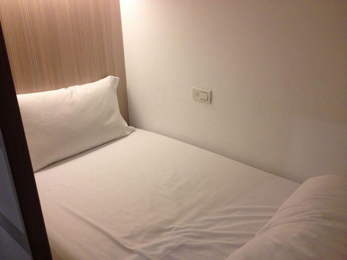 旅の疲れもふっとぶ! ふかふかまっしろのベッド