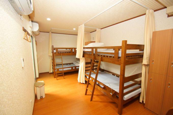 適度な距離が確保されている相部屋ベッド