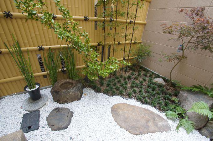 お庭で小さな京都を満喫する