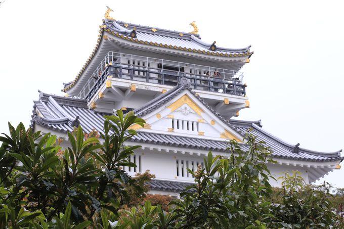 「地上の楽園」岐阜城での最高のおもてなし