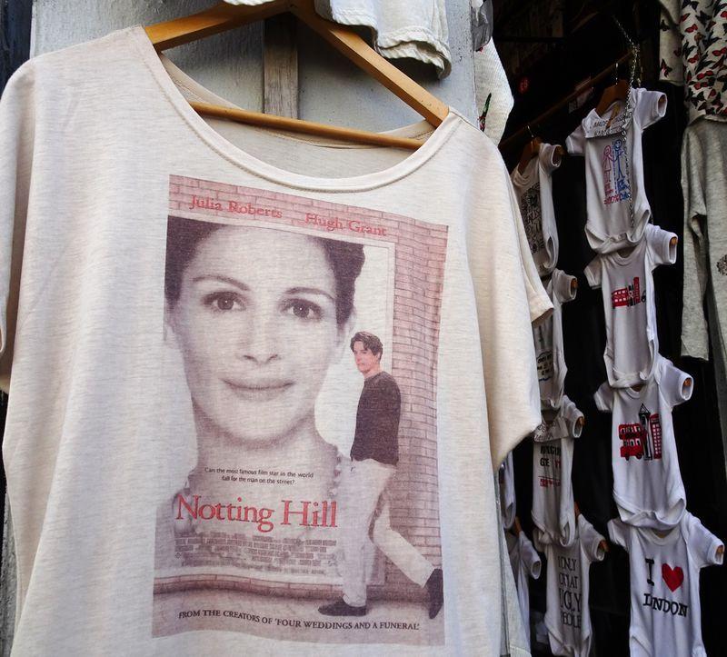 ロンドン・映画『ノッティングヒルの恋人』ロケ地は楽しみ方2倍?