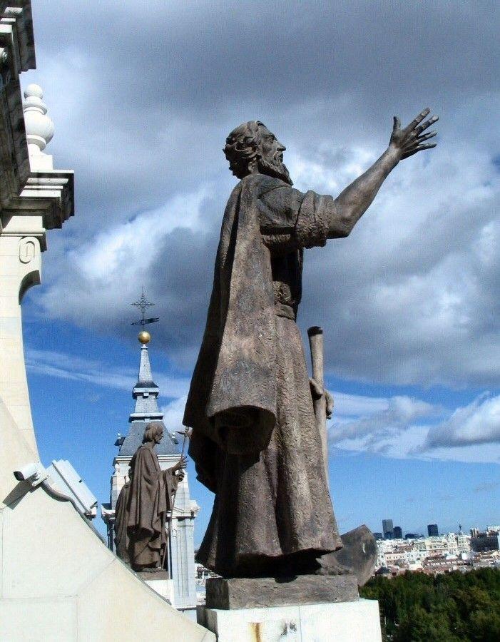 マドリード市内と王宮の景色を堪能!!