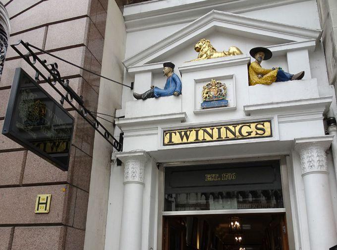 世界で初めて紅茶専門店を作った「トワイニング」