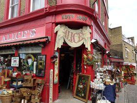 ロンドン「ポートベロー・マーケット」で掘り出し物を見つけよう