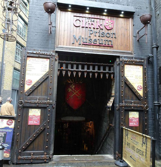 博物館として再現されている、「イギリスでもっとも古く・悪名高き刑務所」