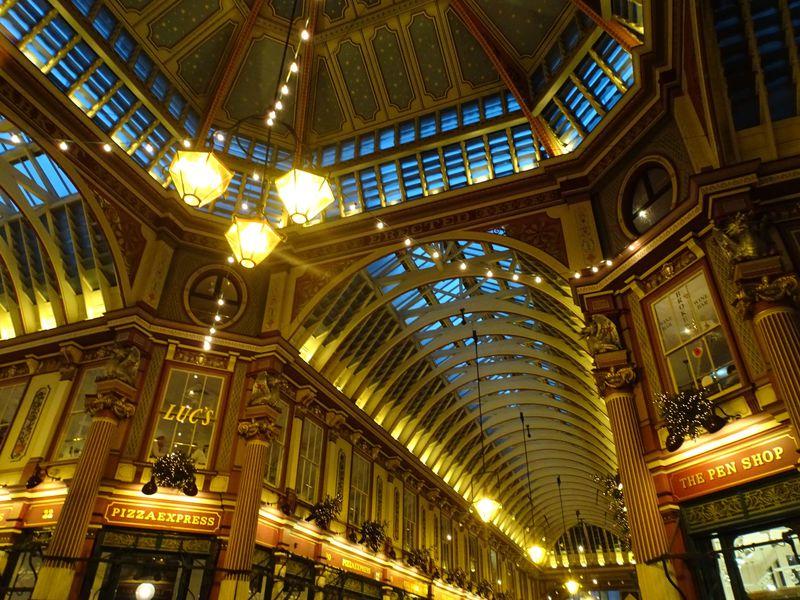 『ハリーポッター』ロケ地・ロンドンの雅な「レドンホール マーケット」