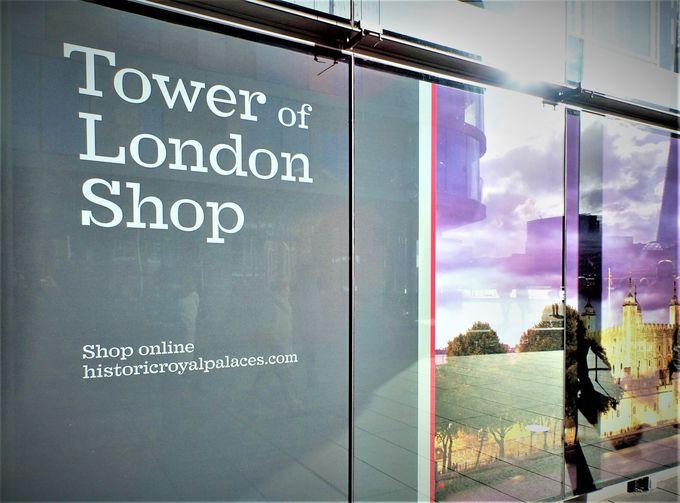 ロンドン塔に入場しなくても購入できちゃう?
