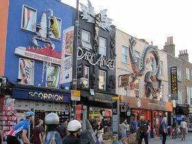 ロンドン「カムデンタウン」はパンクでホットな巨大マーケット