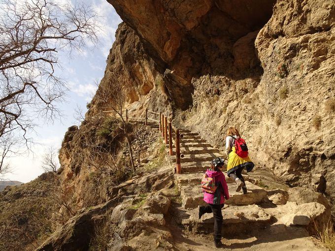 とってもわかりやすいシエラネバダ国立公園のハイキングルート